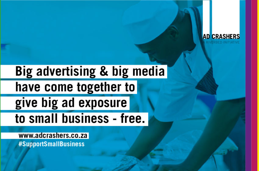 Riverbed Agency Launches AdCrashers Campaign for SMMEs