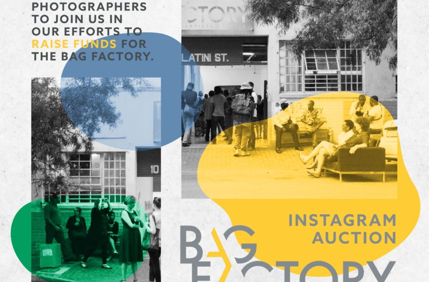 CALL FOR SUBMISSIONS: 10AND5 IS HOSTING AN INSTAGRAM AUCTION TO HELP SUPPORT THE BAG FACTORY