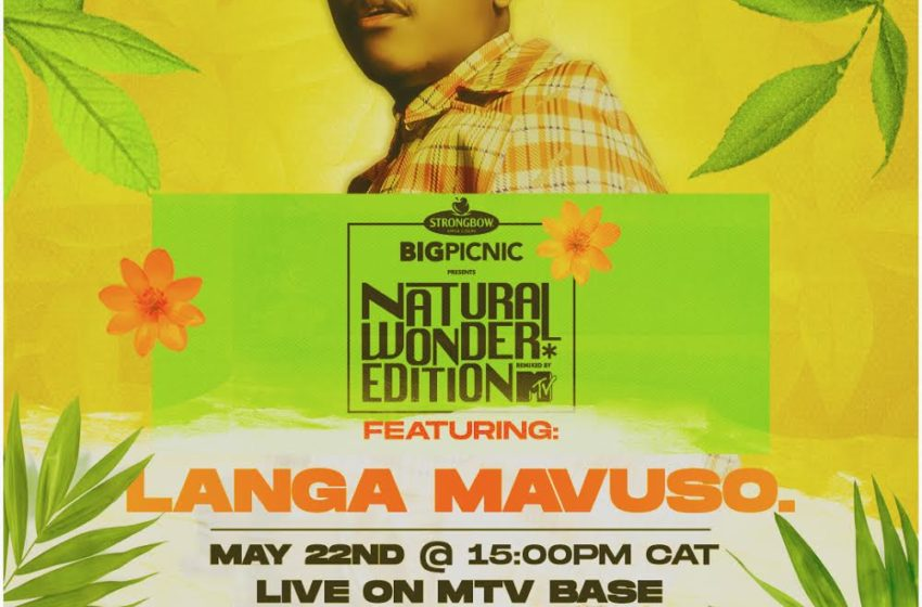 LANGA MAVUSO AND BIG ZULU PERFORM ON SPECIAL EDITION OF VIRTUAL STRONGBOW BIG PICNIC PREMIERING ON MTV BASE