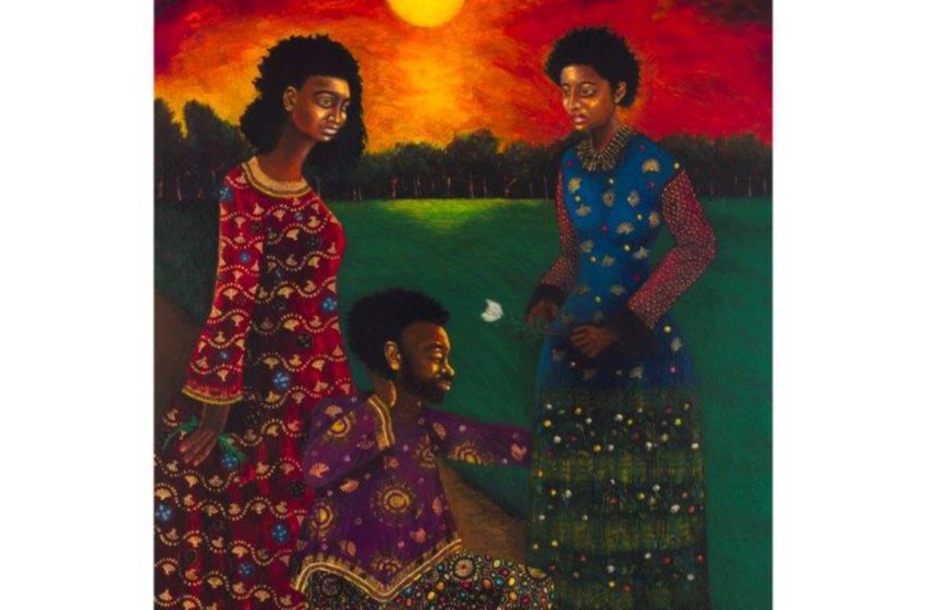 Homage to Africa art exhibition by Sfiso Ka Mkame