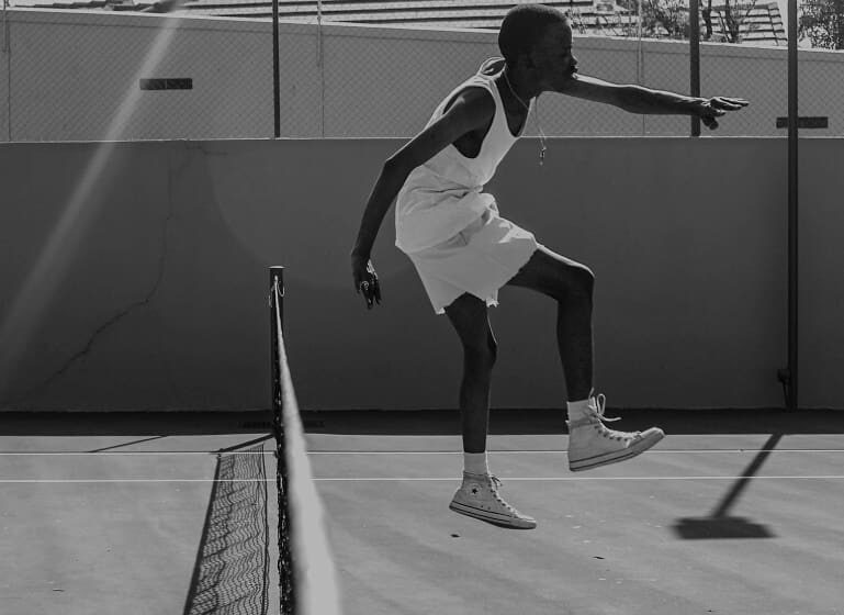 Fashion Meets Tennis in Mbulelo Faluti's Photographic Body of Work