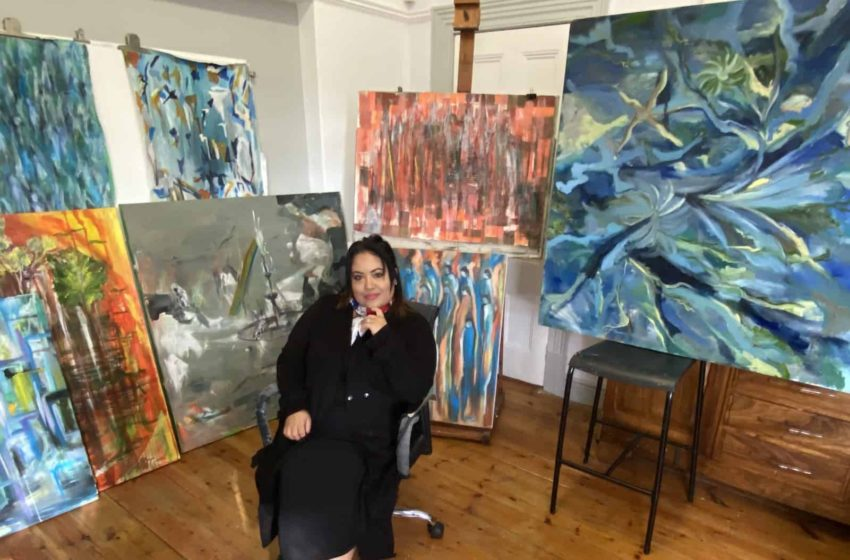 Creative Artist Razia Myers Says South Africa's Violent Protests and Looting Inspired Her Recent Artwork